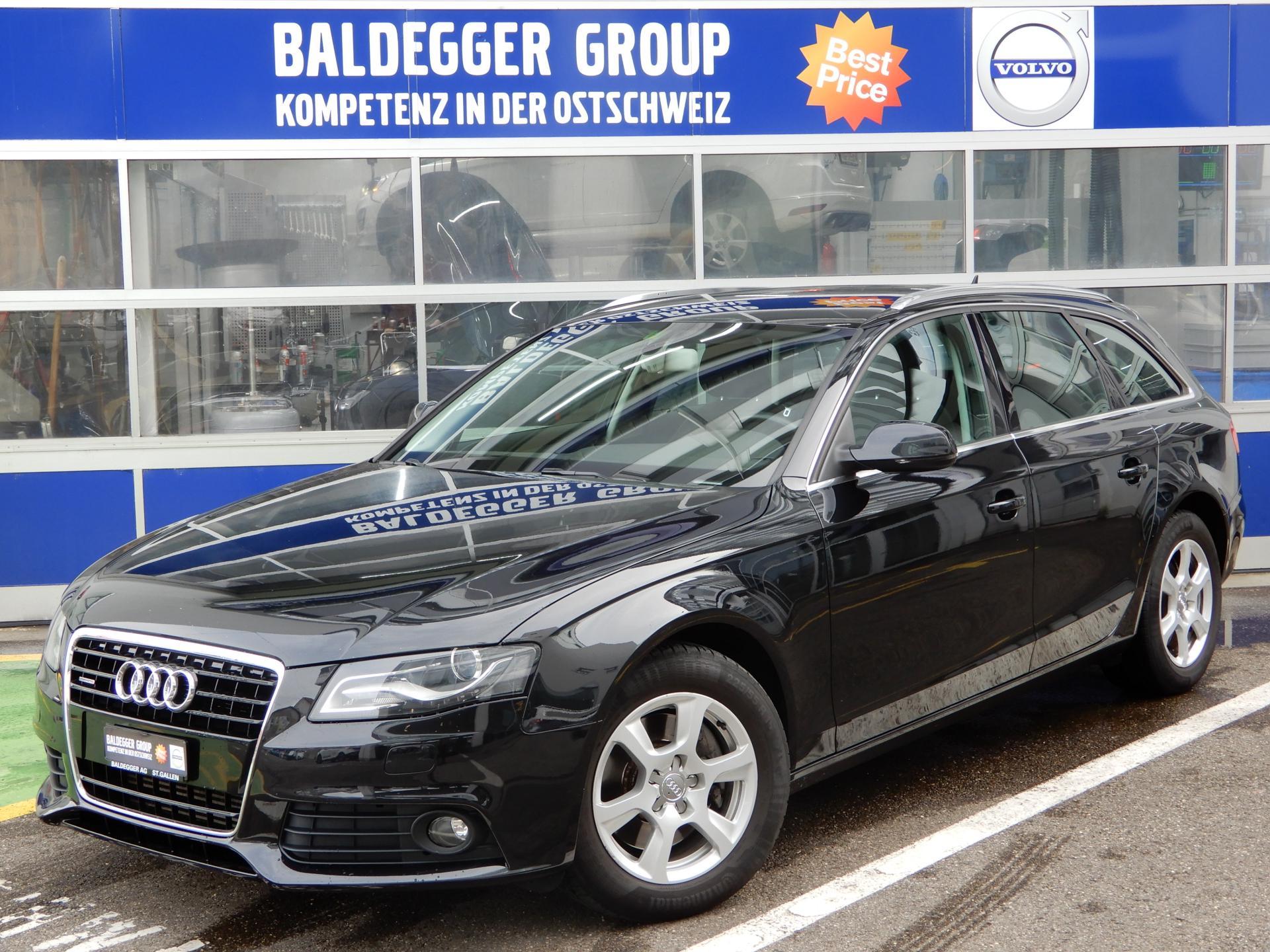 Audi A4 Avant 30 Tdi Quattro Baldegger Automobile Ag