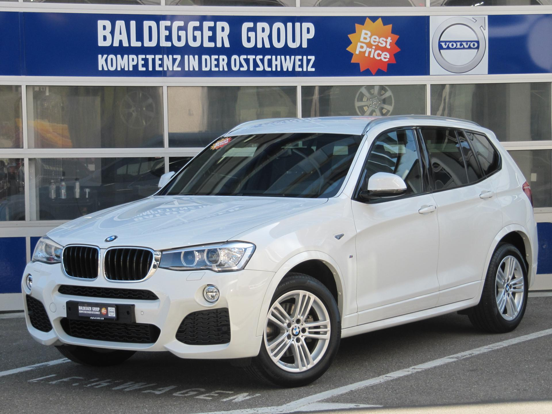 bmw x3 xdrive 20d baldegger automobile ag. Black Bedroom Furniture Sets. Home Design Ideas