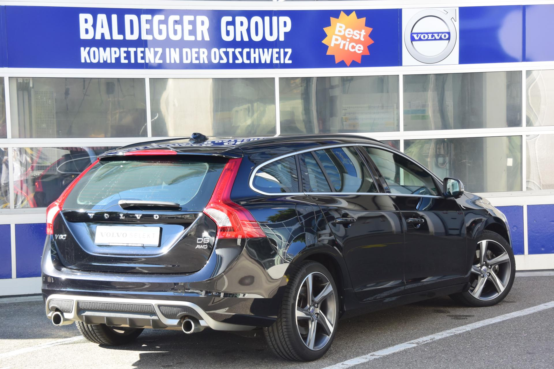 volvo v60 d5 awd r design baldegger automobile ag. Black Bedroom Furniture Sets. Home Design Ideas