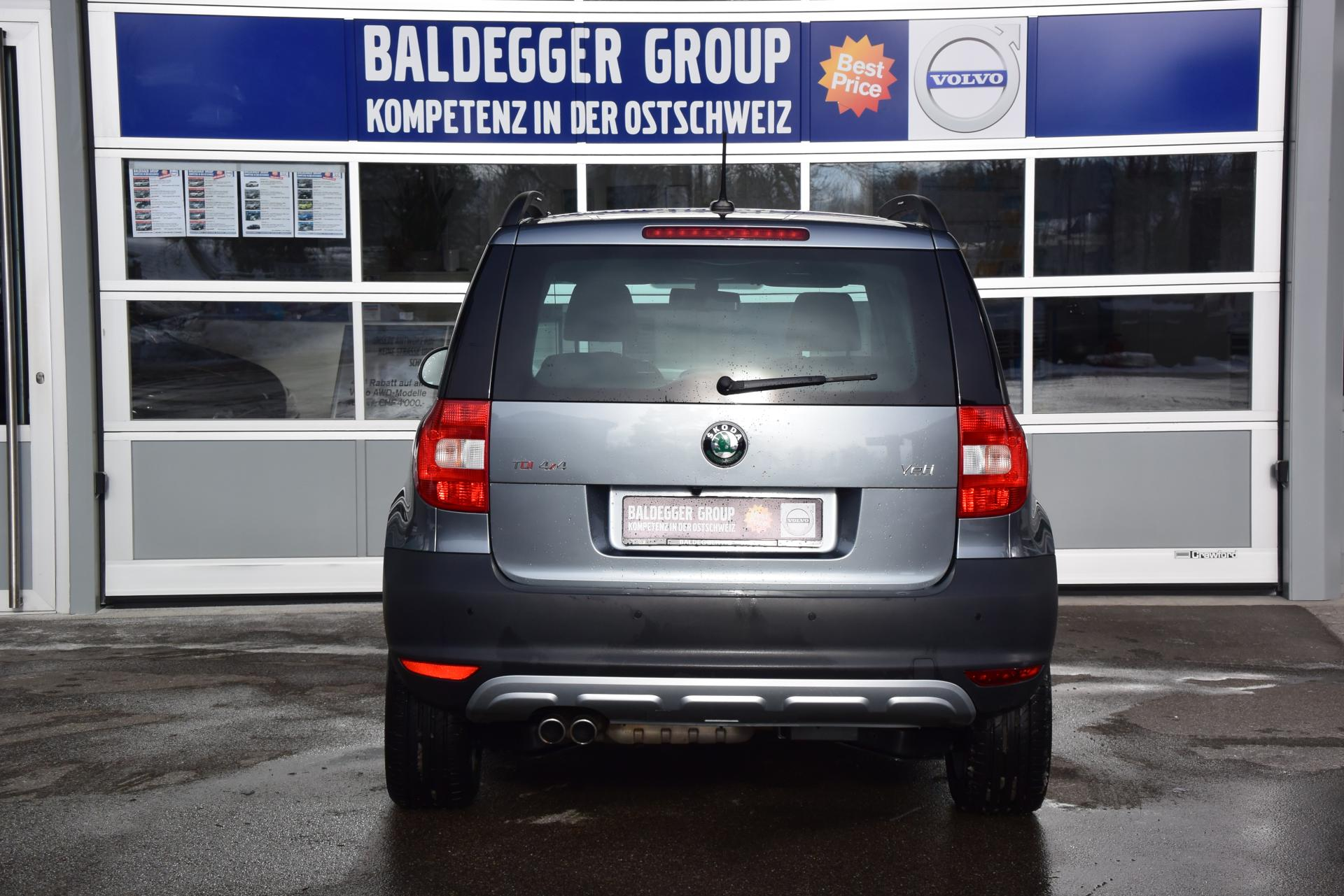 skoda yeti 2 0tdi experience4x4 baldegger automobile ag. Black Bedroom Furniture Sets. Home Design Ideas
